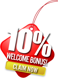 10% Welcome Bonus! Claim Now!